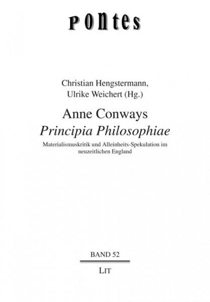"""Anne Conways """"Principia Philosophiae"""""""